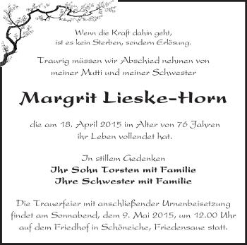 Zur Gedenkseite von Margrit