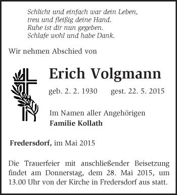 Zur Gedenkseite von Erich