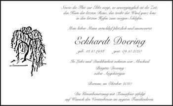Anzeige Eckhardt Doering