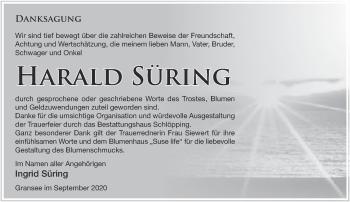 Anzeige Ingrid Süring