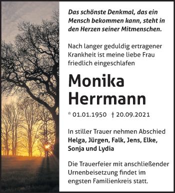 Anzeige Monika Herrmann